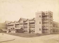Male Ward, St George's Hospital, [Bombay].
